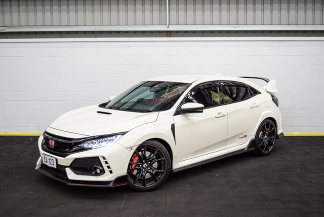 Used Honda Civic 10th Gen MY17 Type R Canning Vale, 2017 Honda Civic 10th Gen MY17 Type R White 6 Speed Manual Hatchback
