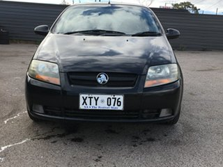2006 Holden Barina TK Black 4 Speed Automatic Hatchback