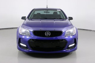 2016 Holden Ute Vfii MY16 SV6 Black Edition Blue 6 Speed Automatic Utility.