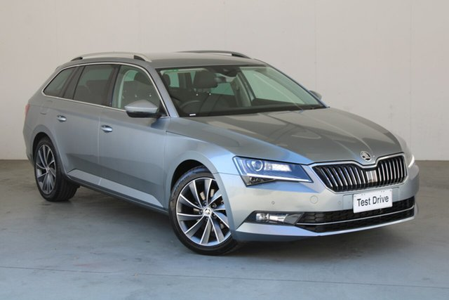 Used Skoda Superb NP MY19 162TSI DSG Phillip, 2019 Skoda Superb NP MY19 162TSI DSG Grey 6 Speed Sports Automatic Dual Clutch Wagon