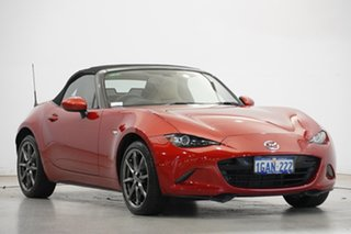 2016 Mazda MX-5 ND GT SKYACTIV-Drive Soul Red 6 Speed Sports Automatic Roadster