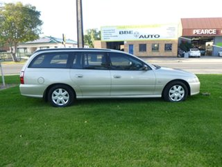 2007 Holden Commodore VZ Executive Gold Automatic Wagon.