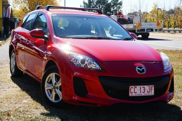 Used Mazda 3 BL10F2 MY13 Maxx Activematic Sport Phillip, 2013 Mazda 3 BL10F2 MY13 Maxx Activematic Sport Red 5 Speed Sports Automatic Hatchback