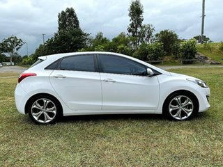 2012 Hyundai i30 GD Premium Creamy White 6 Speed Sports Automatic Hatchback.