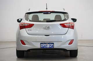 2016 Hyundai i30 GD4 Series II MY17 Active T8S : Platinum Silver, Metalli 6 Speed Sports Automatic