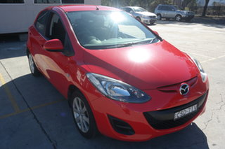 2014 Mazda 2 DJ2HAA Neo SKYACTIV-Drive Red 6 Speed Sports Automatic Hatchback.