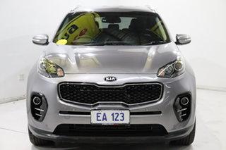 2016 Kia Sportage QL MY16 SLi AWD Silver 6 Speed Sports Automatic Wagon.
