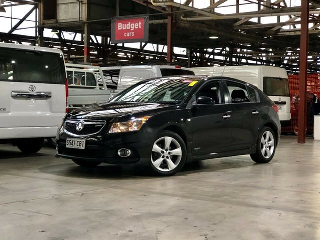 Used Holden Cruze JH Series II MY12 SRi Mile End South, 2011 Holden Cruze JH Series II MY12 SRi Black 6 Speed Sports Automatic Hatchback