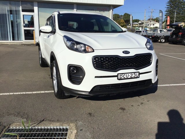 Used Kia Sportage SL MY14 Si 2WD Cardiff, 2015 Kia Sportage SL MY14 Si 2WD White 6 Speed Sports Automatic Wagon