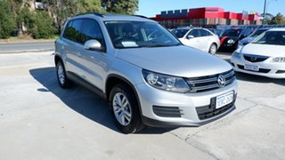 2013 Volkswagen Tiguan 5N MY14 118TSI DSG 2WD Silver 6 Speed Sports Automatic Dual Clutch Wagon.