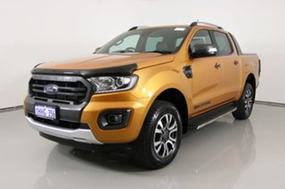 2019 Ford Ranger PX MkIII MY19 Wildtrak 2.0 (4x4) Orange 10 Speed Automatic Double Cab Pick Up.