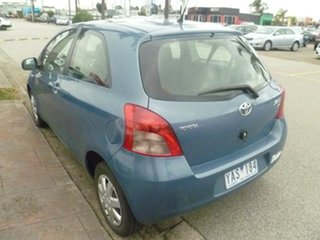 2005 Toyota Yaris NCP90R YR Blue 4 Speed Automatic Hatchback