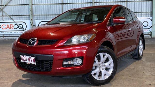 Used Mazda CX-7 ER1031 MY07 Luxury Rocklea, 2008 Mazda CX-7 ER1031 MY07 Luxury Red 6 Speed Sports Automatic Wagon
