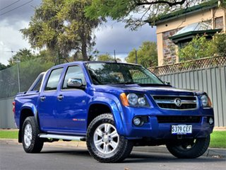 2010 Holden Colorado RC MY10 LT-R Crew Cab Blue 4 Speed Automatic Utility.
