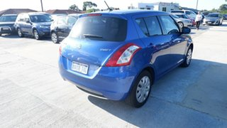 2011 Suzuki Swift FZ GL Blue 5 Speed Manual Hatchback