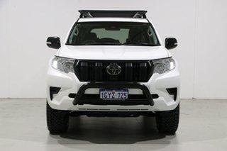 2018 Toyota Landcruiser Prado GDJ150R MY18 GX (4x4) White 6 Speed Automatic Wagon.
