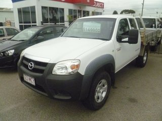 2010 Mazda BT-50 UNY0E4 DX+ Freestyle 4x2 White 5 Speed Manual Cab Chassis