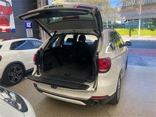 2014 BMW X5 F15 xDrive30d White Sports Automatic Wagon