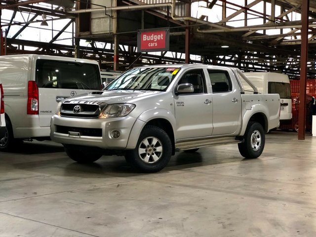 Used Toyota Hilux KUN26R MY10 SR5 Mile End South, 2010 Toyota Hilux KUN26R MY10 SR5 Silver 4 Speed Automatic Utility