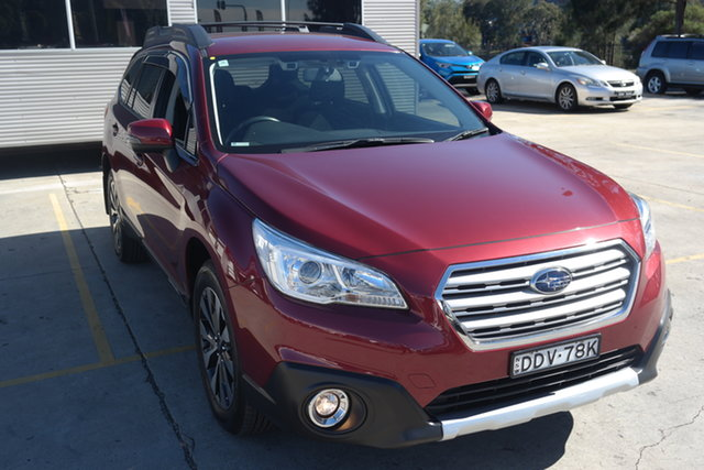 Used Subaru Outback B6A MY16 2.5i CVT AWD Maryville, 2016 Subaru Outback B6A MY16 2.5i CVT AWD Red 6 Speed Constant Variable Wagon