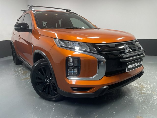 Used Mitsubishi ASX XD MY20 GSR 2WD Cardiff, 2019 Mitsubishi ASX XD MY20 GSR 2WD Sunshine Orange 6 Speed Constant Variable Wagon
