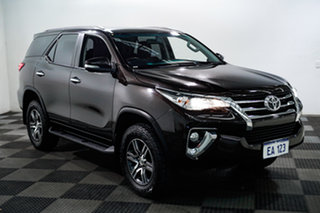 2015 Toyota Fortuner GUN156R GXL Brown 6 Speed Automatic Wagon