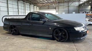 2003 Holden Ute VY Storm S Black 4 Speed Automatic Utility.