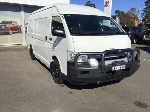 Used Toyota HiAce KDH221R High Roof Super LWB Cardiff, 2016 Toyota HiAce KDH221R High Roof Super LWB French Vanilla 4 Speed Automatic Van