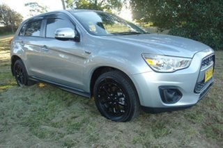 2012 Mitsubishi ASX XA MY12 Platinum 2WD Silver 5 Speed Manual Wagon