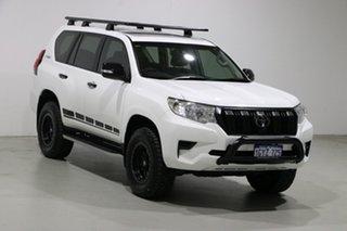 2018 Toyota Landcruiser Prado GDJ150R MY18 GX (4x4) White 6 Speed Automatic Wagon
