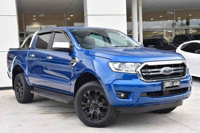 Used Ford Ranger PX MkIII 2019.00MY XLT Oakleigh, 2019 Ford Ranger PX MkIII 2019.00MY XLT Blue 6 Speed Sports Automatic Double Cab Pick Up