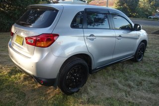 2012 Mitsubishi ASX XA MY12 Platinum 2WD Silver 5 Speed Manual Wagon.