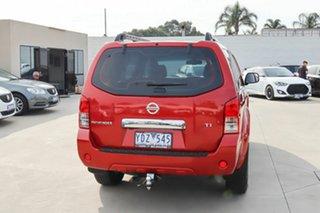 2011 Nissan Pathfinder R51 MY10 TI Red 5 Speed Sports Automatic Wagon