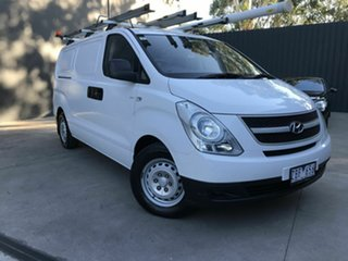 2012 Hyundai iLOAD TQ MY11 White 5 Speed Manual Van.