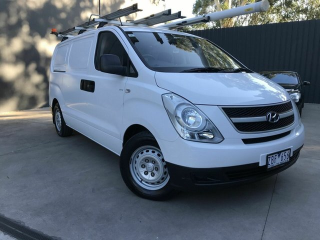Used Hyundai iLOAD TQ MY11 Fawkner, 2012 Hyundai iLOAD TQ MY11 White 5 Speed Manual Van