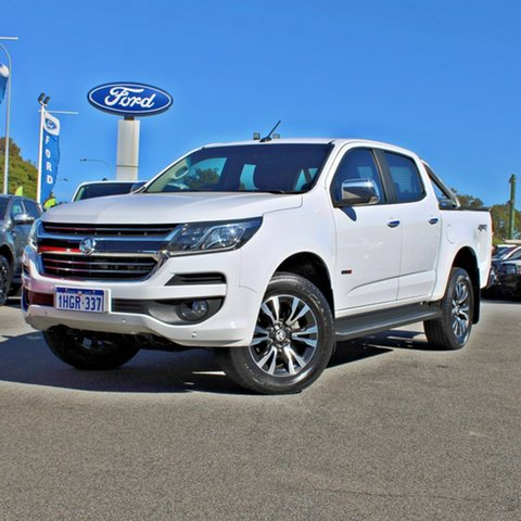 Used Holden Colorado RG MY18 LTZ Pickup Crew Cab Midland, 2018 Holden Colorado RG MY18 LTZ Pickup Crew Cab White 6 Speed Sports Automatic Utility