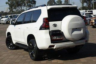 2018 Toyota Landcruiser Prado GDJ150R GXL White 6 Speed Sports Automatic SUV.