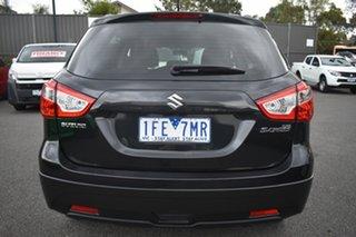 2015 Suzuki S-Cross JY GL Black 7 Speed Constant Variable Hatchback.