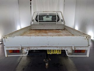 2009 Mitsubishi Triton ML MY09 GLX White 4 Speed Automatic Cab Chassis
