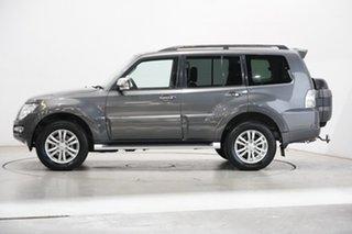 2017 Mitsubishi Pajero NX MY17 GLX Grey 5 Speed Sports Automatic Wagon.