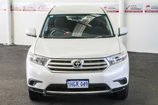 2010 Toyota Kluger GSU40R MY11 Upgrade KX-R (FWD) 5 Seat Crystal Pearl 5 Speed Automatic Wagon