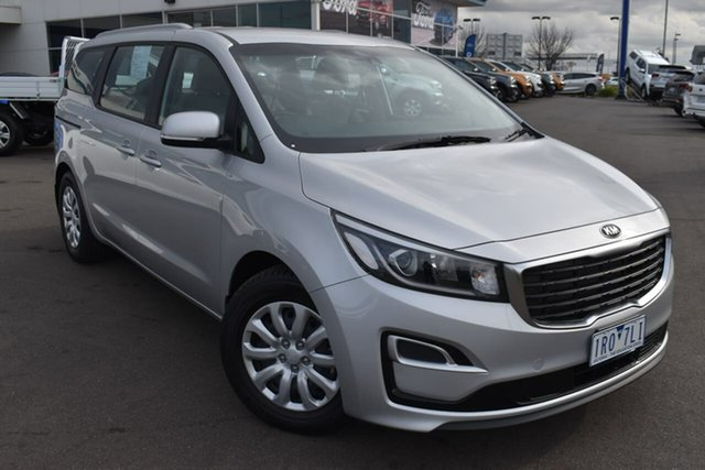 Used Kia Carnival YP MY20 S Essendon Fields, 2020 Kia Carnival YP MY20 S Silver 8 Speed Sports Automatic Wagon