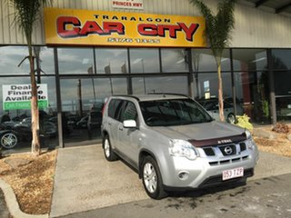 2012 Nissan X-Trail T31 MY11 ST (4x4) Silver 6 Speed CVT Auto Sequential Wagon.