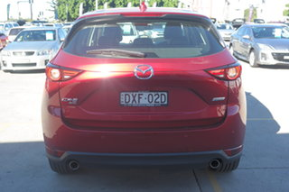 2018 Mazda CX-5 KF4WLA Akera SKYACTIV-Drive i-ACTIV AWD Soul Red 6 Speed Sports Automatic Wagon