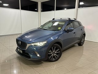 2017 Mazda CX-3 DK2W7A sTouring SKYACTIV-Drive Blue 6 Speed Sports Automatic Wagon.