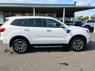 2019 Ford Everest UA II 2019.75MY Titanium White 10 Speed Sports Automatic SUV