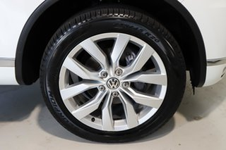 2015 Volkswagen Touareg 7P MY15 V6 TDI Tiptronic 4MOTION White 8 Speed Sports Automatic Wagon