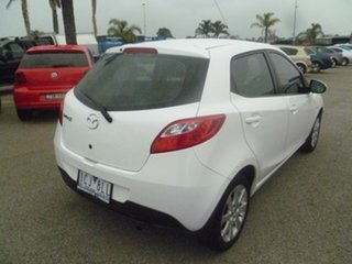 2014 Mazda 2 DE10Y2 MY14 Neo Sport White 5 Speed Manual Hatchback