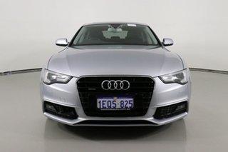 2014 Audi A5 8T MY14 Sportback 2.0 TFSI Quattro Silver 7 Speed Auto Direct Shift Hatchback.