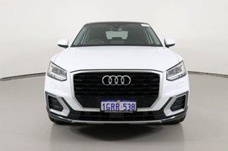2018 Audi Q2 GA MY18 1.4 TFSI Design White 7 Speed Auto S-Tronic Wagon.